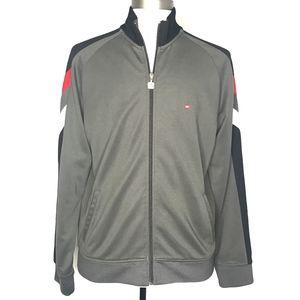 Quiksilver Gray Retro Full Zip Jacket A010660